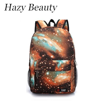 Hazy beauty New universal space design unisex backpack super chic lady backpacks hot chic stylish boy and girls school bagDH655