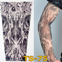 New 1pc Unisex Women Men Fashion Nylon Temporary Tattoo Sleeve Arm Stockings New Quality Sunscreen se8