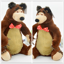 Russian Electronic pet Musical Talking Masha Action Figure Doll 27cm And 38cm Masha and Bear Toy Boneca Kids toy Gift For Girls