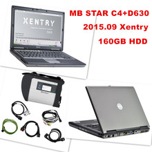 D630+ MB Star C4 SD Connect + HDD 2015.09 Xentry Diagnostics System Compact 4 Mercedes Diagnosis Multiplexer For Benz Diagnose