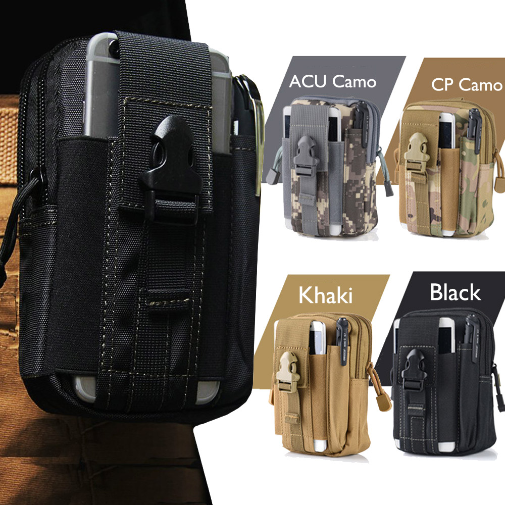 Outdoor Army Tactical Waist Belt Phone Molle Bag font b Case b font for font b