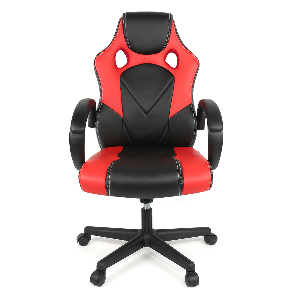 Office-Chair Reclining Ergonomic Swivel Adjustable Faux-Leather High-Back Home HWC title=