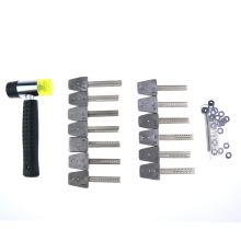 Free shipping+ Bump Hammer and Key Set with Hige Quality(China)