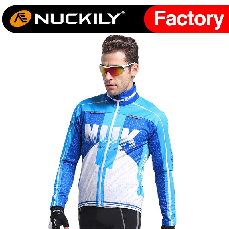 Nuckily  cycling wind jacket Popular blue men cycling wear mountain bikewinter jacket for cyclist<br><br>Aliexpress