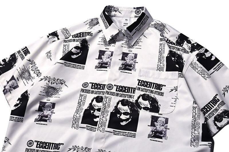 Joker Angel Print Shirts 2