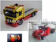 New 20021 Technic series The Flatbed Truck Model Building Blocks set Compatible 8109 classic car-styling Toys for children