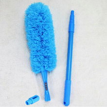 Microfiber Duster Detachable Scalable Bendable Washable Household Ceiling Fans Air-condition Car Furniture Dust Cleaning 3 Pole(China)
