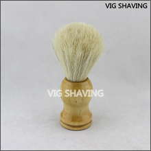 Free shipping promotion price wood hanle Horse hair shaving brush
