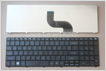 NEW For Packard Bell NEW90 NEW95 P5WS6 PEW72 PEW76 PEW91 PEW92 English Laptop Keyboard UI US black