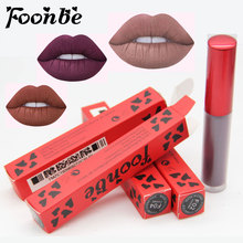 FOONBE Brand Maquiagem Matte Lip Gloss Liquid Lipstick Make up Matt Lipgloss Beauty Cosmetics Sexy Lip Blam Lips Makeup Glosses