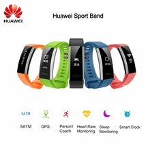 Original Huawei Sport Band 2 B29 with GPS Heart Rate Monitoring Push message touch screen