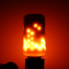 New Arrival Halloween Home Decoration 5W 2835 SMD 99 LED Lamp Bulb E27 Flame Flickering/ Breathing/General Modes LED Lights Bulb(China)
