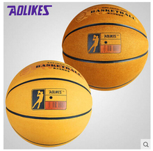 Cow Genuine Leather Basketball Ball American Official Authentic Suede Slip Outdoor Basektball Ball Size 7 With Free Needle