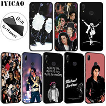 IYICAO Michael Jackson Soft Silicone Phone Case for Huawei P30 P20 Pro P10 P9 P8 Lite Mini 2017 2016 2015 P Smart 2019 Cover(China)