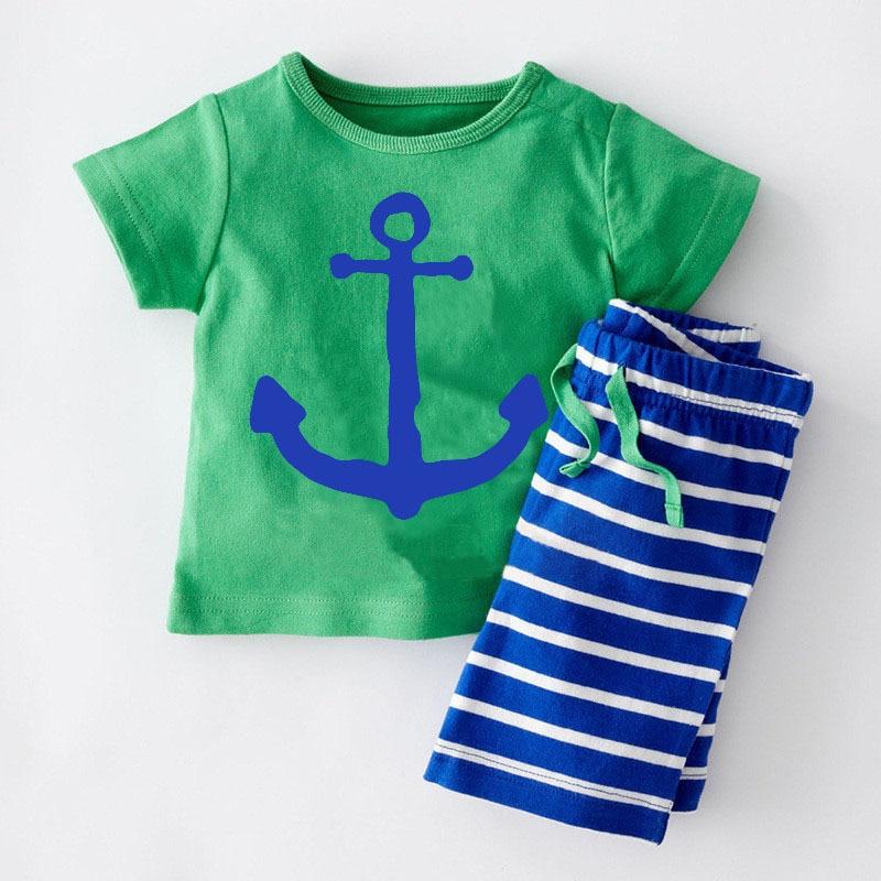 2019 بتصميمات 1440 Boys-clothing-set-ba