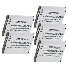 5Pcs Wholesale Li-50B LI50B 50B Batteries for Olympus SP 810 800UZ u6010 u6020 u9010 SZ14 SZ16 D755 u1010 SZ30 SZ20 XZ-1 VR350(China)