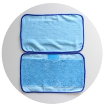 50pcs/Lot Microfiber Mopping Cloths for iRobot Braava 380 380t 320 Mint 4200 4205 5200 5200C Robot(China)