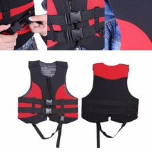 Outdoor Life Vest EPE Foam Water Sports Life Jacket Buoyancy Aid Swimming Fishing Drifting Jacket With Whistle For Adult(China)