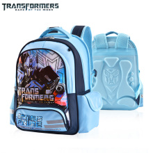 TRANSFORMERS cartoon safety  school bag books bag shoulder backpack portfolio for boys Grade 1-4