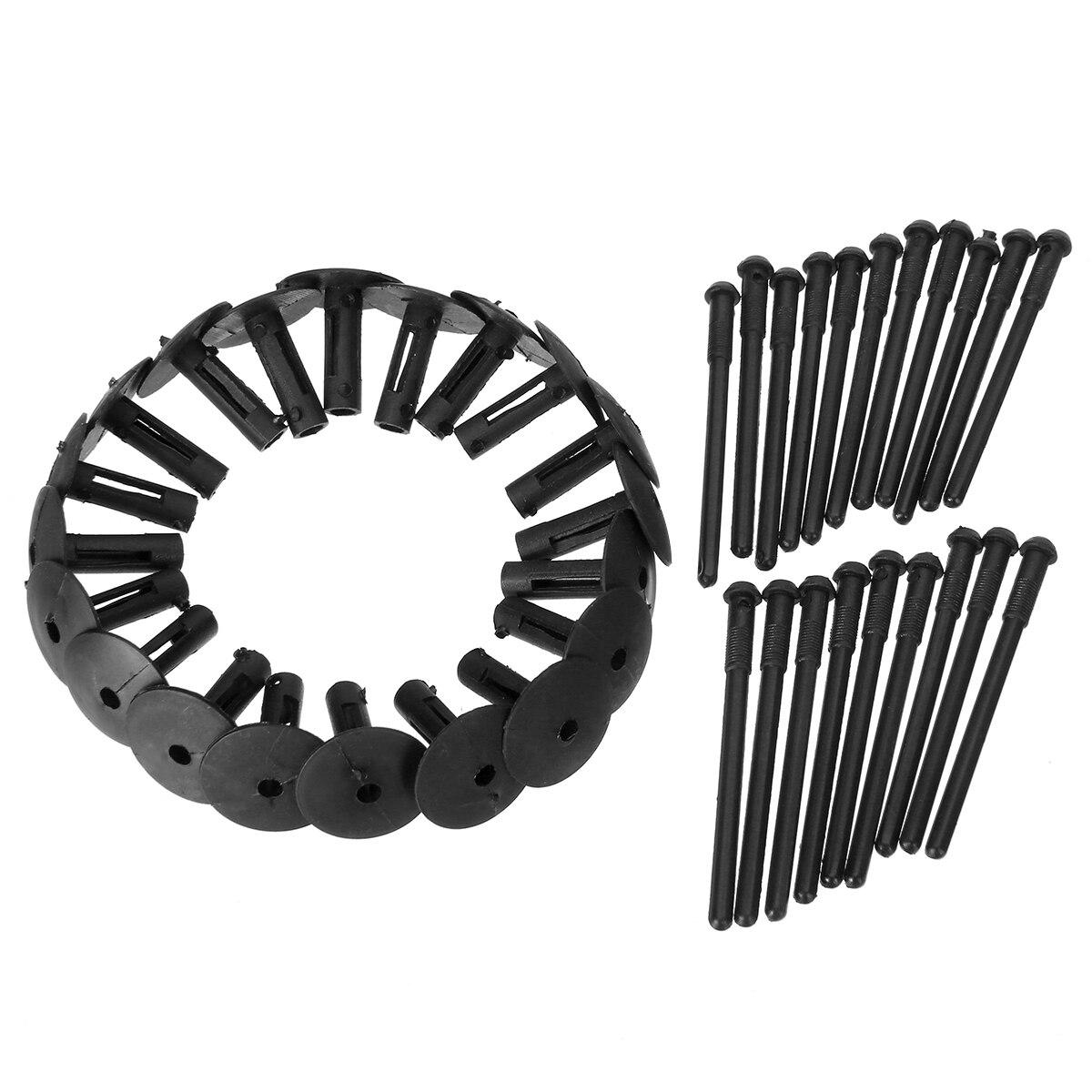 10 x bmw série 3 type de rivet en plastique Noir Panneau Garniture Corps Clips fastener