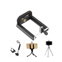 Camera Stand Tripod for Mobile Phone With Clip Bracket Holder Monopod Tripod Mount for Smartphone