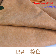 Nap Thin Suede fabric for DIY sewing patchwork handmade Sofa pillow bag colthes skirt coat hat shoes 100% polyester material