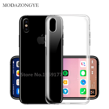 Buy MODAZONGYE Original Soft Transparent Case iPhone 8 Case Cover Silicone Back Cover Phone Case iPhone 8 iPhone8 Plus for $3.89 in AliExpress store