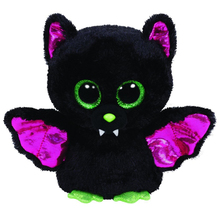 Original Ty Beanie Boos Big Eyes Plush Toy Doll Colorful Rabbit Baby Kids Gift Bat 15 cm WJ159