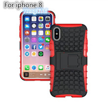 Buy Apple iphone X Case Heavy Duty Armor Shockproof Hybrid Hard Soft Silicone Rugged Rubber Phone Case Cover iphone X for $3.17 in AliExpress store