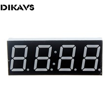 "1pcs 0.56"" Inch 4 Digits Clock Red LED Numeric Digital Display for Arduino DIY"