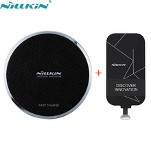Nillkin Type-C Qi Wireless Charger Receiver & Wireless charging Pad For Xiaomi Mi6 Mi5 Huawei Mate 9 Honor 8 pro P10 Plus LG G6(China)