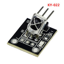 KY-022 3pin TL1838 VS1838B 1838 Universal IR Infrared Sensor Receiver Module for arduino Diy Starter Kit