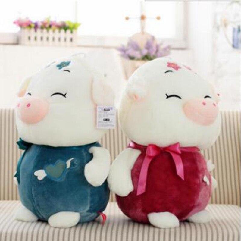 30cm The new high-quality dolls pig san shun pig plush toys doll Valentines Day girlfriend gift m454<br><br>Aliexpress