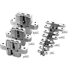 1Pcs180 Degree Hinge Cross Hinge Folding Hinges Drawer Invisible Door Cross Folding Hinges