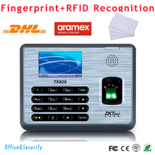 Free DHL Fingerprint + RFID card time attendance machine biometric TCP/IP RS232 485 USB Linux system time recording SDK(China)