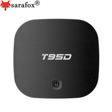 T95D Android TV Box RK3229 Quad Core Cortex A7 1GB 8GB 2.4GHz WIFI KDplayer Set Top Box Media Player with LED Display(China)