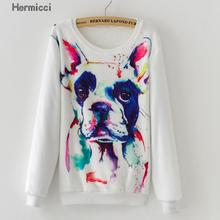 2016 Fashion Women Long Sleeve Casual Cashmere Pattern Sweaters and Pullovers Female Oversized Print Femme Winter Warm Sweaters(China)