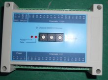 24 channel(8*3channel) DMX dimmer,with switch for setting dmx address by hand