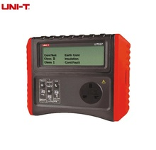 UNI-T UT527 Safety Testers Handheld Battery Powered PAT Meter Insulation/Ground Resistance Tester+Cord Test+Out with Testing(China)