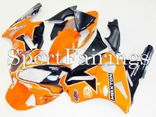 Fairings Kawasaki ZX12R ZX-12R Year 02-06 2002 2004 2005 2006 Sportbike ABS Motorcycle Fairing Kit Bodywork Cowling Orange