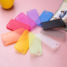 GREAT PRICE if 2pcs!!! Ultra Thin back cover skin Case For iphone 4 4s 5 5s 5c 6 6s plus Matte Soft Plastic translucent shell