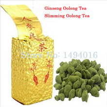 250g Taiwan Dong ding Ginseng Oolong Tea Ginseng Oolong ginseng tea Chinese Famous Health Slimming Care Tea  Free shipping