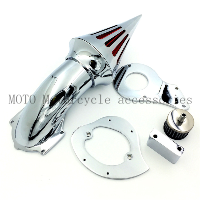 Motorcycle air filter For Honda Shadow 600/ VLX 600 1999&amp;up Air Cleaner Filters performance metal air filters assembly System<br><br>Aliexpress