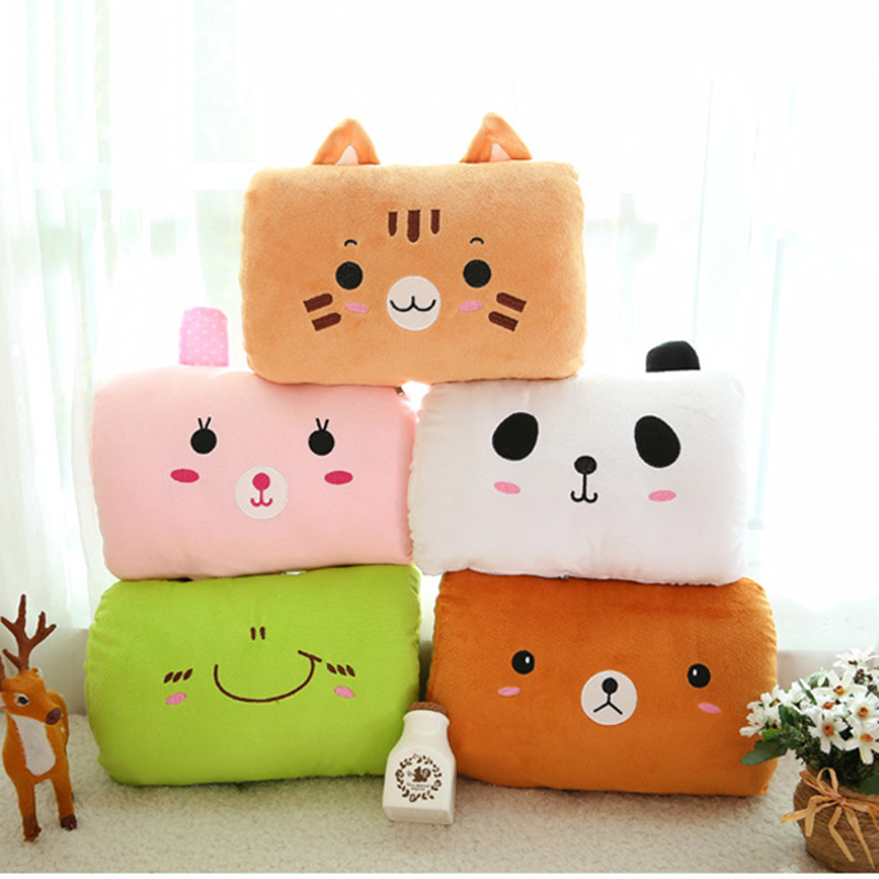 1PCS Cartoon Hand Po Hand warmer USB Electric Heater Plush Pillow Washable Explosion-proof Hand Cushion C0H<br><br>Aliexpress
