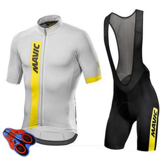 Mavic Short Sleeve Cycling Jersey 2017 Pro Team Men 9D Bike Clothes Maillot Cycling Sets MTB Clothing Conjunto Ropa Ciclismo
