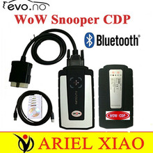 DHL wow snooper CDP with Bluetooth V5.008 R2 software WOW CDP tcs cdp pro cars trucks auto diagnostics tools better