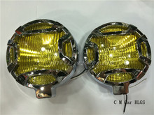 LA1028 Gm modified fog lamps, traffic safety lamp, little lamp, H3 55 w 12 v model suitable for all cars, modified parts