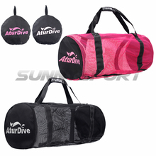 new large capacity diving equipment package bag flippers can house outdoor travel bag fins bag Black Pink