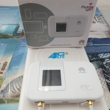 unlocked HUAWEI E5372 E5372s-32 4G LTE Cat4 Pocket wifi router  +4G LTE 49DBI mimo panel directional antenna TS9