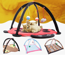 Pet Cat Bed Toys Cat Hammock Bed for Small Dog Puppy Playing Bed Toys Cat Bed Pad Blanket House Pet Furniture Cat Tent Toys(China)